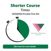 Shorter courses