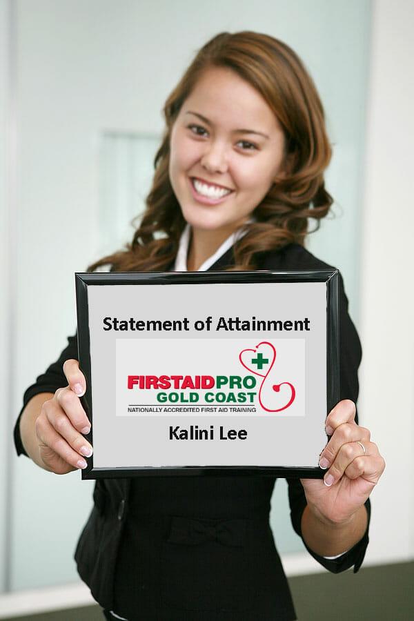 First Aid Certificate Gold Coast